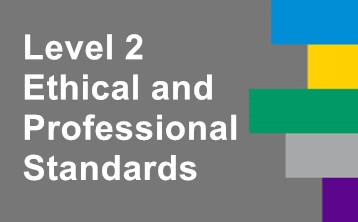 2018年6月CFA二级系列课程: Ethical and Professional Standards(新版)